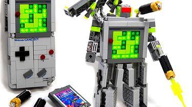 Co powstanie z połączenia Lego, Gameboya i Transformerów?