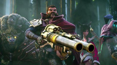 A oto nowy animowany i bardzo ładny zwiastun... League of Legends.