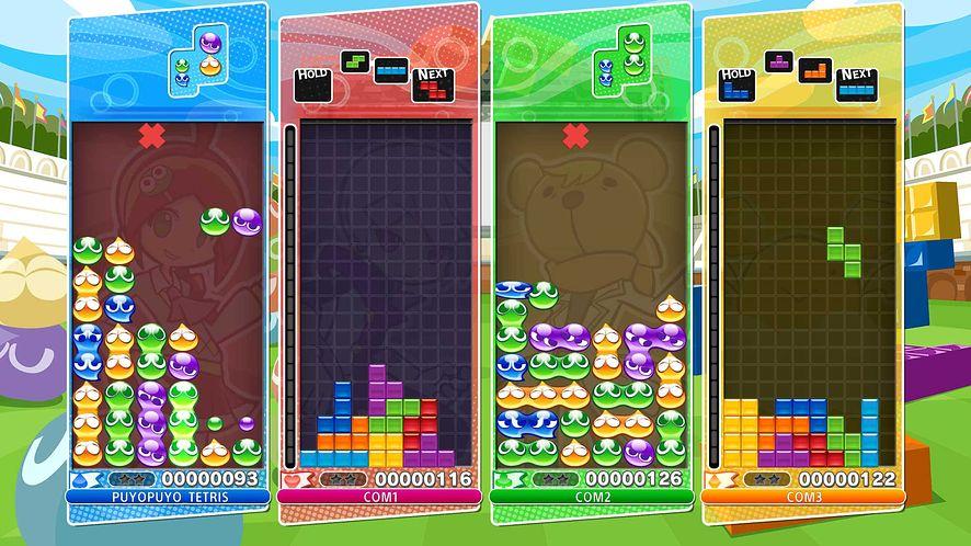 Ograniczenia dla streamerów Puyo Puyo Tetris pokazują różnice między Japonią a zachodem