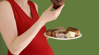 Słodycze w ciąży