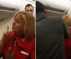 Awantura w samolocie. Pasażer uderzył szefową pokładu