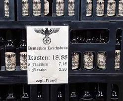 Niemcy. W sklepach pojawiło się piwo z nazistowskimi symbolami