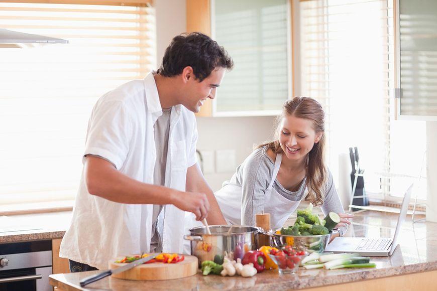 Gotujcie razem w domu
