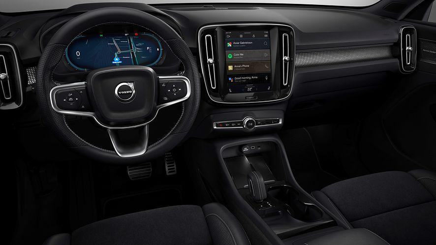 Android Automotive OS w Volvo XC40, fot. materiały prasowe Volvo