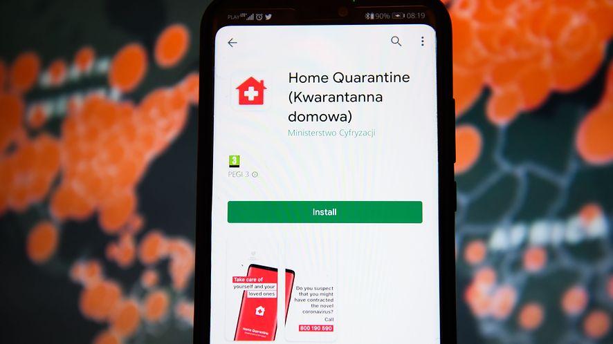 Organizacja Panoptykon prześwietliła aplikację Kwarantanna domowa pod kątem bezpieczeństwa, fot. Omar Marques/SOPA Image//SIPA/East News