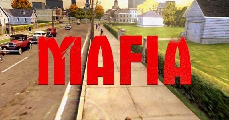 Kult na wieki — Mafia: The City of Lost Heaven - Napis trochę podniszczony, ale można to wybaczyć po 15 latach ;)