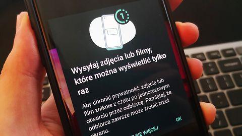 WhatsApp: nowość w zdjęciach i filmach. Daj odbiorcy tylko jedną szansę