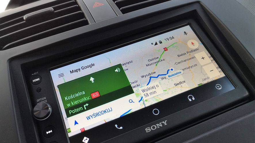 Android Auto na razie nie jest oficjalnie dostępny w Polsce