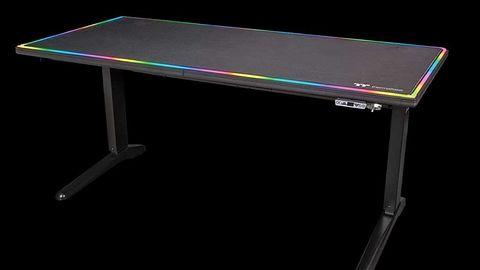 Thermaltake Level 20 RGB Battlestation – czyli to tak wygląda ponoć pierwsze biurko dla graczy