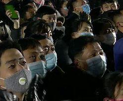 Sylwester w Korei Północnej. Zdjęcia obiegły świat