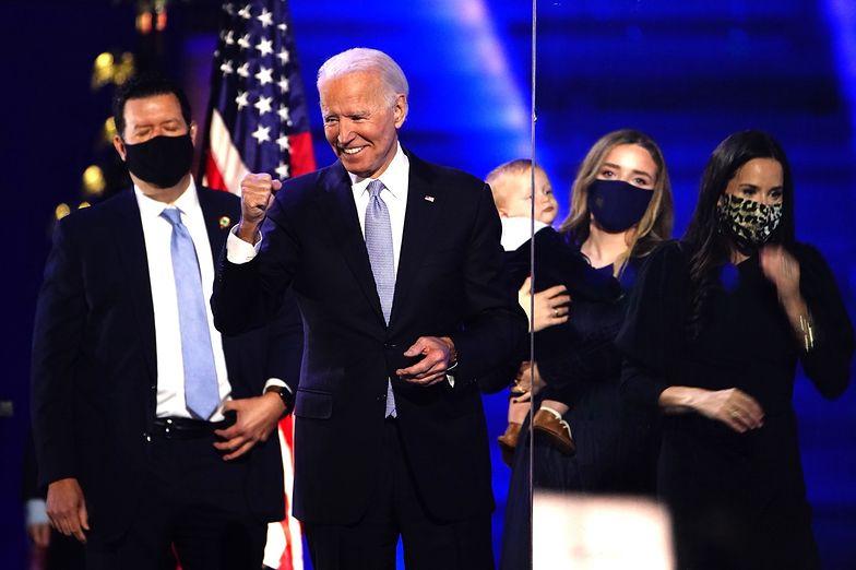 """Wybory w USA. Joe Biden przemówił. """"To zaszczyt mojego życia"""""""