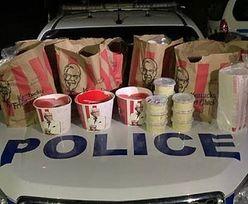 Przemyt jedzenia z KFC. Mężczyźni zatrzymani przez policję