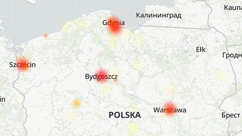 Awaria internetu UPC. Brak dostępu do sieci m.in. w Gdyni i Gdańsku (aktualizacja)