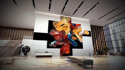 Samsung prezentuje gigantyczny, 583-calowy telewizor MicroLED