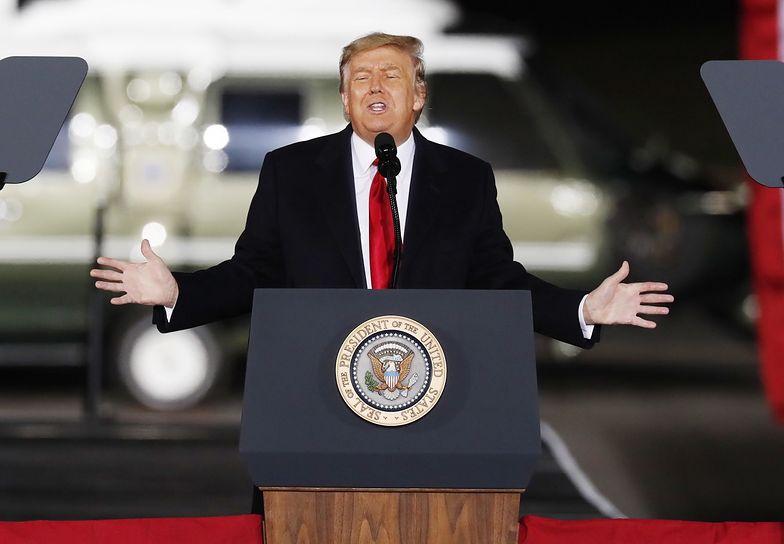 Donald Trump dostał bana. Skasowali mu konto