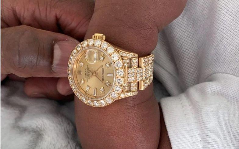 Floyd Mayweather podarował prezent kilkudniowemu wnukowi. Jest wart miliony