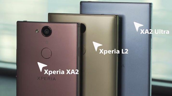 Nowe smartfony Sony na CES: priorytetem dla Xperii ze średniej półki jest selfie