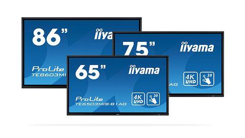 Nowe dotykowe ekrany iiyama. Dostępne modele z wyświetlaczem o przekątnej 65, 75 i 86 cali