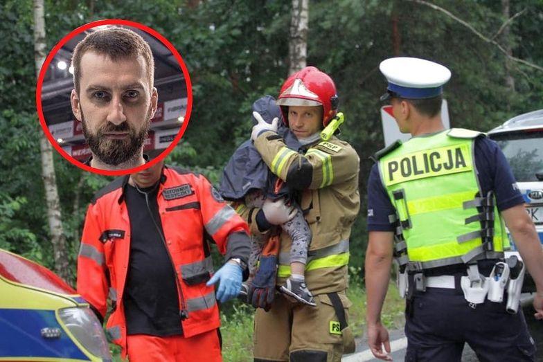 Tragiczny wypadek na Podkarpaciu. Sportowiec uderzył w znane osoby