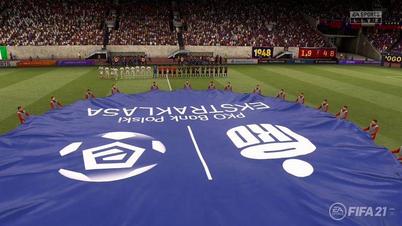 Polskie rozgrywki od dawna dostępne są w grach serii FIFA