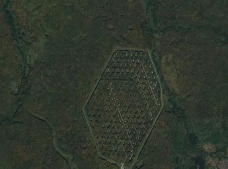 Google Maps. Dziwne odkrycie na terytorium Rosji. Miejsce jest sekretem?