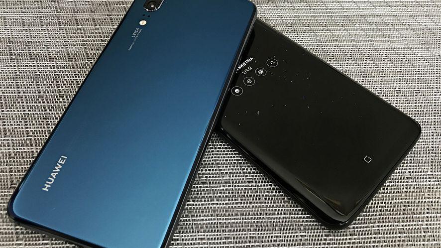 Huawei P20 i Samsung Galaxy S9+.