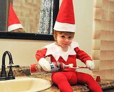 Najsłodszy pomocnik św. Mikołaja, jakiego kiedykolwiek widziałeś
