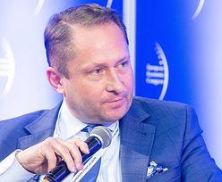 Wściekły Durczok nazwał wiceministra matołem. Chodzi o auto Nowaka
