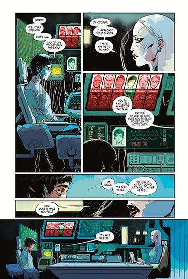 Cyberpunk 2077. Trauma Team. Tom 1
