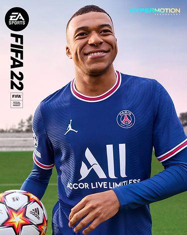 Okładka FIFA 22, Kylian Mbappe