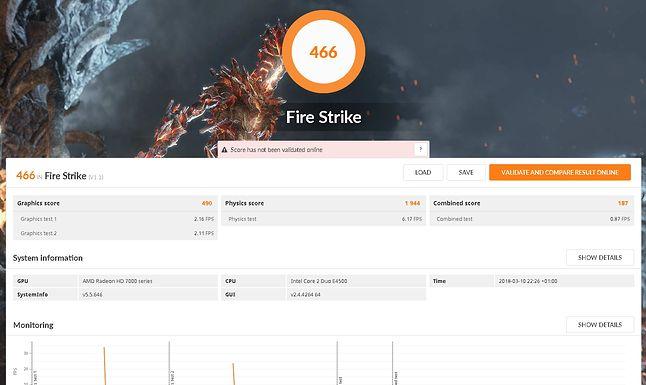 3DMark @ FireStrike.
