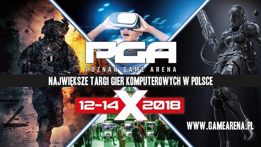 Jedziemy na PGA – Poznań Game Arena 2018. Bądź na bieżąco z naszą relacją i konkursami