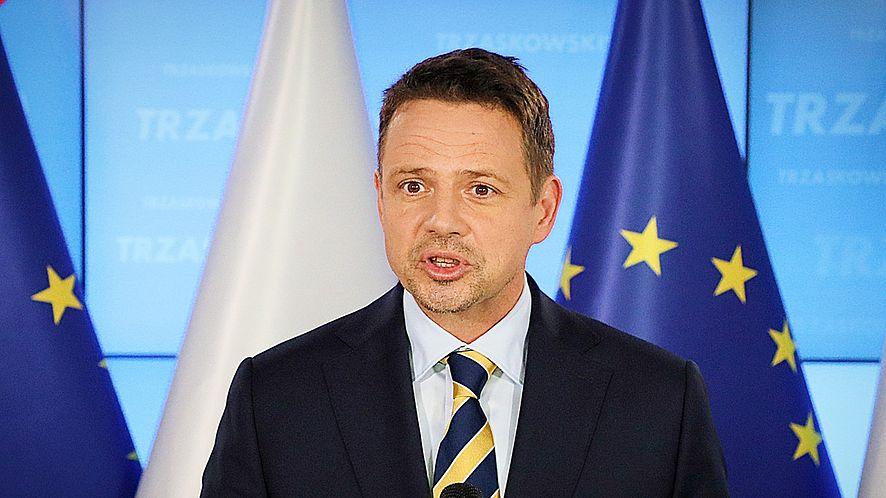 Rafał Trzaskowski, fot. Jakub Kaminski/East News