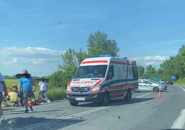 Koszmarny wypadek na Dolnym Śląsku. Nie żyje 2-letnie dziecko