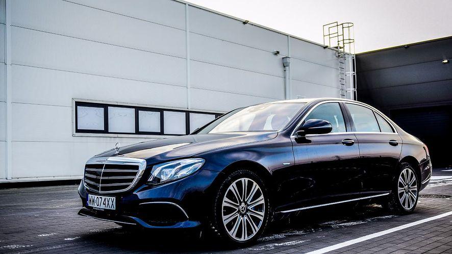 Mercedes klasy E.
