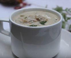 To nie jest zwykła zupa pieczarkowa. Jeden składnik sprawi, że będzie idealnie kremowa