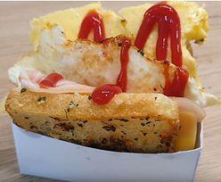 Przepis na koreańskiego tosta z jajkiem czosnkowym. Nie potrzebujesz tostera