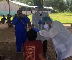 Peru. 80 procent mieszkańców wioski ma koronawirusa