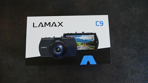 Krótki test LAMAX C9: Kamerka samochodowa z GPS i bazą fotoradarów