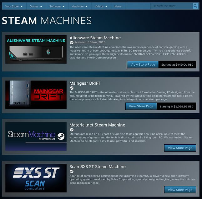 """To wszystko, co zostało po """"maszynach parowych"""" Valve"""