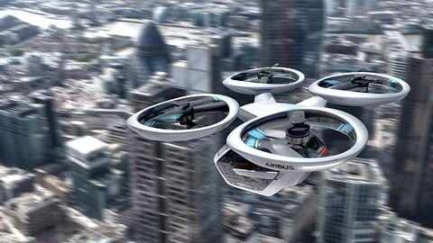 Audi i Airbus przemyślały latające auta na nowo: to nie może być jeden pojazd