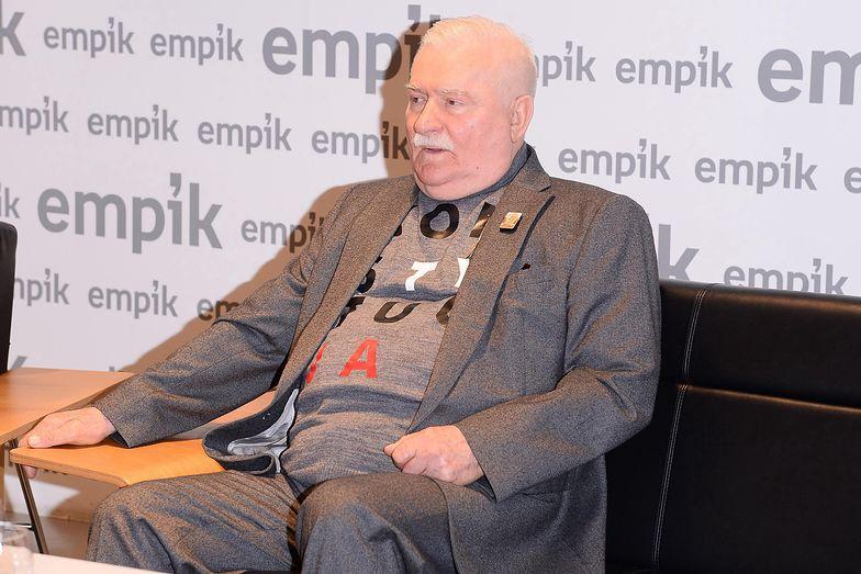 """Żona """"mnie z domu wyrzuci"""". Lech Wałęsa mówi o trzynastej emeryturze"""