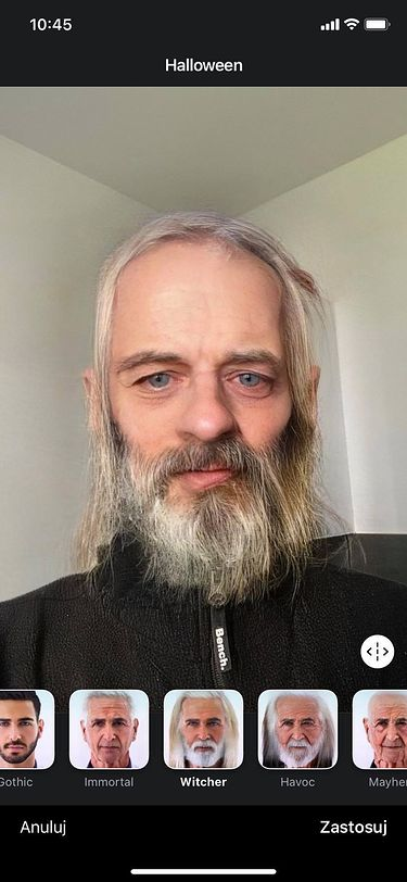 Piotrek został Wiedźminem ;)