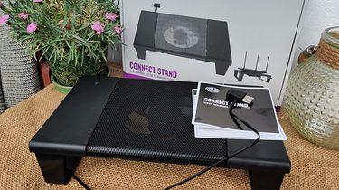 Minimalistyczna podstawka pod router - Cooler Master Connect Stand [szybki test]