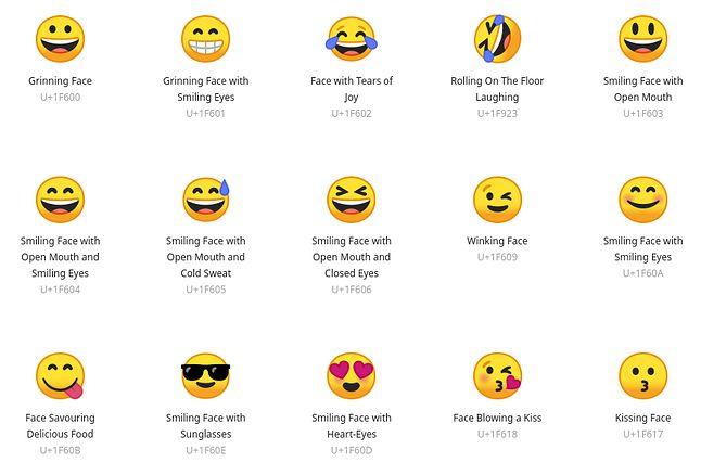 NotoColor Emoji – zadebiutują w Ubuntu 18.04 i zapewne Linux Mincie 19