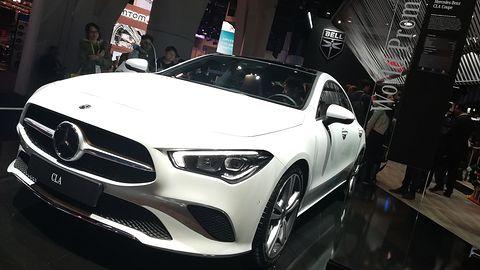Nowy Mercedes CLA pokazany na CES 2019. Oto samochód godny targów w Las Vegas