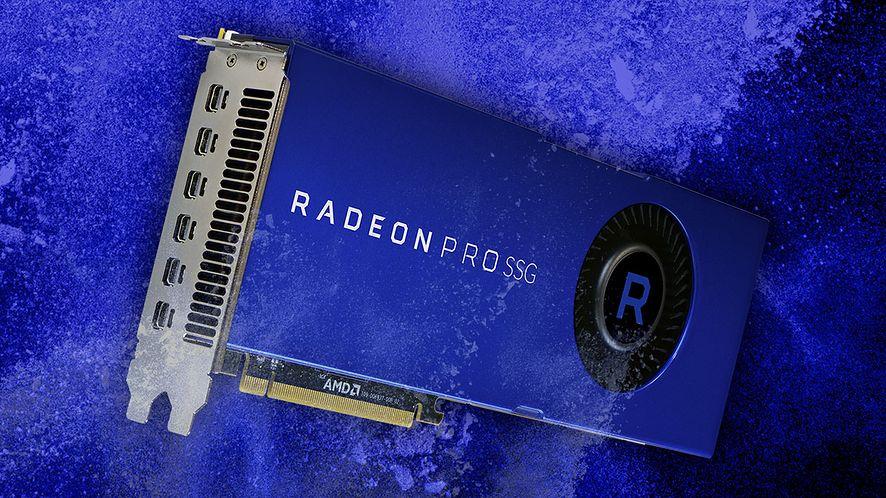 Bazujący na rdzeniu Vega 10, Radeon Pro SSG kosztuje obecnie ponad 20 tys. zł. Źródło: Materiały prasowe AMD