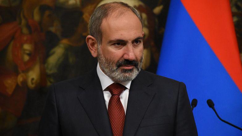Premier Armenii Nikol Paszinian rządzi krajem od 2018 roku