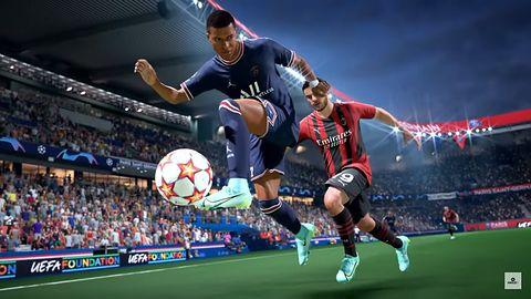 Pełne mecze FIFA 22. Gameplay zawodowców. Są już pewne obawy