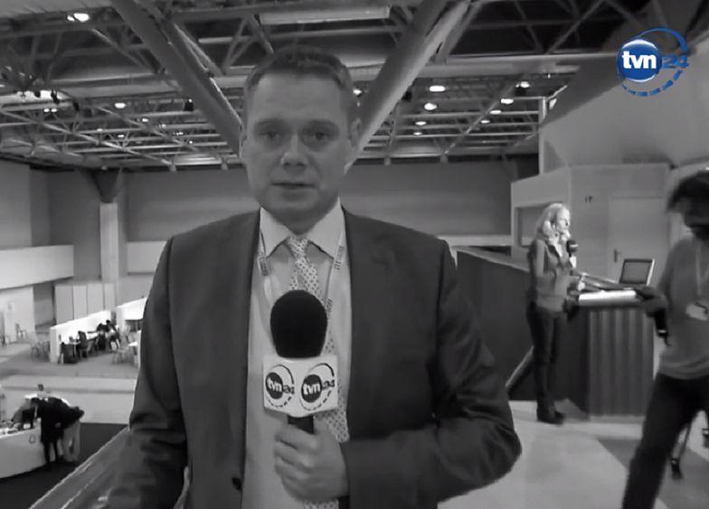 Rafał Poniatowski nie żyje. Dziennikarz TVN24 miał 48 lat
